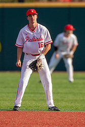 NORMAL, IL - April 08: Derek Parola during a college baseball game between the ISU Redbirds  and the Sacramento State Hornets on April 08 2019 at Duffy Bass Field in Normal, IL. (Photo by Alan Look)
