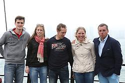 Riders Boat trip Hong Kong harbour<br /> Olivier Philippaerts, Eleonore Lambillotte, Rik Hemeryck, Karline De Brabander, Ludo Philippaerts<br /> CSI 5* Longines Hong Kong Masters 2013<br /> © Hippo Foto - Counet Julien