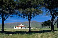 Christy Ranch in spring, Santa Cruz Island, Channel Islands, California Christy Ranch in spring, West End, Santa Cruz Island, Channel Islands, California