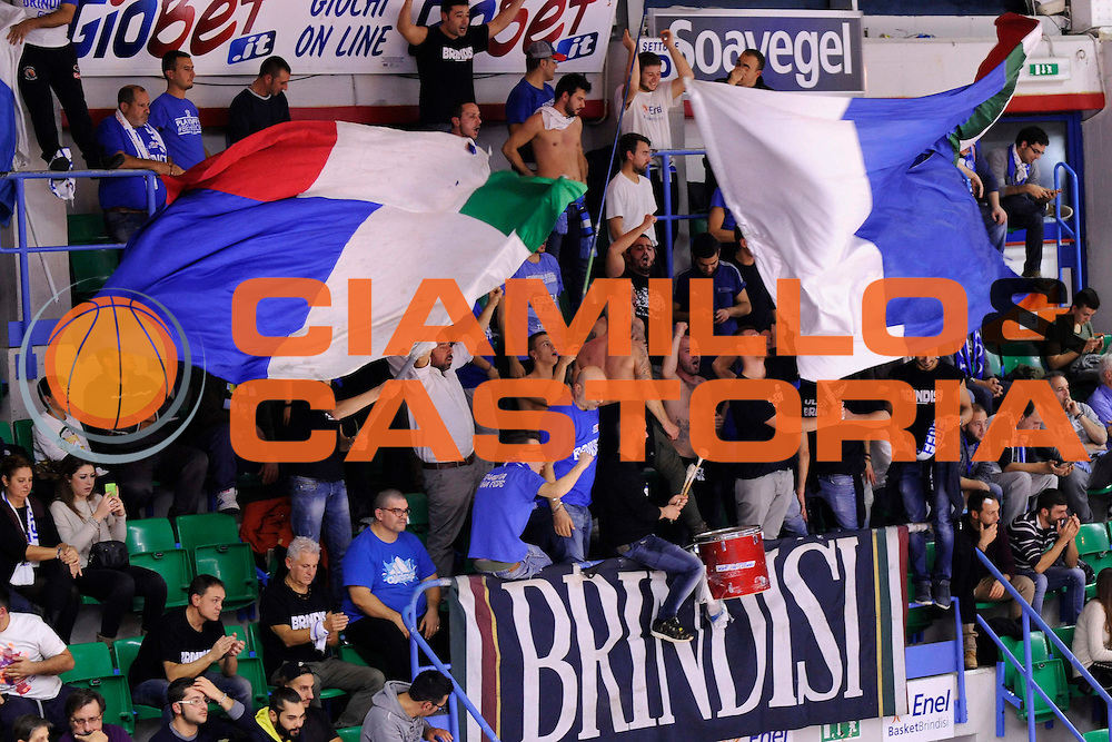 BRINDISI 02 DICEMBRE2014<br /> BASKET EUROCUP<br /> Enel Brindisi Gran Canaria<br /> NELLA FOTO tifosi<br /> FOTO CIAMILLO