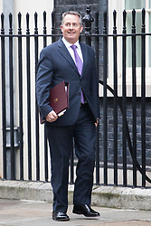 Downing Street, London, January 17th 2017. International Trade Secretary Liam Fox arrives at the weekly cabinet meeting at 10 Downing Street.