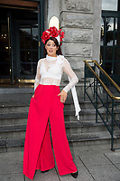 03/08/2017   Repro free  Hotel Meyrick for Galway's 'Most Stylish Lady' Competition, at a glamorous evening reception in the Parlour Lounge of Hotel Meyrick on Ladies Day of the Galway Races. Head judge this year was the stunning Lorraine Keane,  assisted by fellow fashion experts Mandy Maher, pictured, owner of Catwalk Modelling Agency  .  Photo: Andrew Downes, xposure