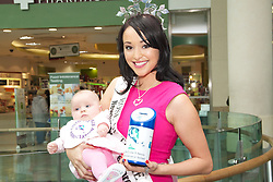 Cystic Fibrosis Association and McCabes Pharmacy.team up for Cystic Fibrosis Awareness Week. .Pictured here are Rose of Tralee, Tara Talbot and baby Grace Duffy (5 months old)..The Cystic Fibrosis Association of Ireland (CFAI) and McCabes Pharmacy have teamed up to highlight Cystic Fibrosis Awareness Week (65 Roses Awareness Week) which runs this week. 65 Roses is the way that many children first learn how to say Cystic Fibrosis and is the theme of the campaign.. .Customers can purchase pins or trolley coins at all McCabes Pharmacy stores with all proceeds going directly to the Cystic Fibrosis Association.. .Screening was introduced by the HSE in July 2011 as part of the standard heel prick test given to all newborn children. Early diagnosis is crucial in giving babies with CF the best possible start in life and greatly benefits their long term health. Since July 2011 25 babies have been diagnosed with CF. It is estimated that the average number of diagnoses per year will be around 50 babies.. .CFAI are calling on members of the public to support 65 Roses Awareness Week by organising their own local event in support of the national fundraising objectives.. .Martin Cahill is a Fundraising Manager with the Cystic Fibrosis Association. He is encouraging people to make a donation. With the welcome increase in life expectancy of people with CF over the years, the demand for our service has also increased dramatically during this time. With little Government assistance, we would ask people to support our work in improving the quality and quantity of life for the 1100+ CF patients in Ireland.. .Marie Duffy has worked for McCabes Pharmacy for the past 12 years in the marketing department. Her daughter Grace was diagnosed with Cystic Fibrosis at only two weeks old through the newborn bloodspot screening. I am delighted that McCabes Pharmacy has chosen The Cystic Fibrosis Association as their charity of the year, it means a lot to myself and my family.. .T