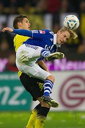 26.11.2011, Signal Iduna Park, Dortmund, GER, 1. FBL, Borussia Dortmund vs FC Schalke 04, im Bild Zweikampf Sebastian Kehl (#5 Dortmund) - Lewis Holtby (#10 Schalke) // during Borussia Dortmund vs. FC Schalke 04 at Signal Iduna Park, Dortmund, GER, 2011-11-26. EXPA Pictures © 2011, PhotoCredit: EXPA/ nph/ Kurth..***** ATTENTION - OUT OF GER, CRO *****