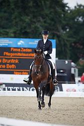 Bruntink Vai (NED) - Anne Beth<br /> Wolrd Championship Young Dressage Horses -Verden 2010<br /> © Dirk Caremans