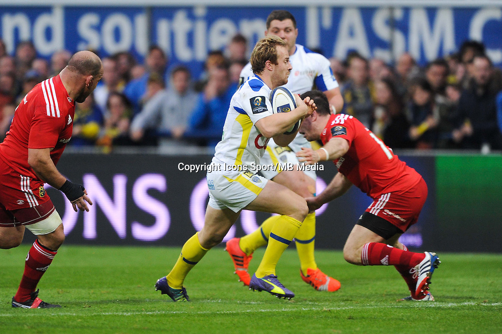 Nick ABENDANON - 14.12.2014 - Clermont / Munster - European Champions Cup <br /> Photo : Jean Paul Thomas / Icon Sport