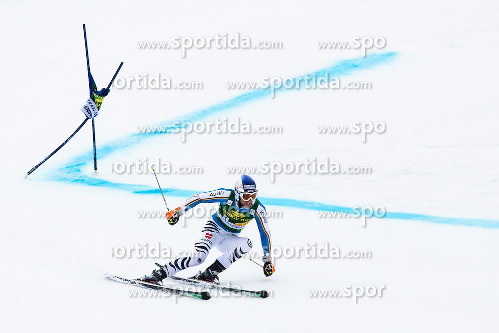 DOPFER Fritz of Germany during the 1st Run of Men's Giant Slalom - Pokal Vitranc 2013 of FIS Alpine Ski World Cup 2012/2013, on March 9, 2013 in Vitranc, Kranjska Gora, Slovenia.  (Photo By Vid Ponikvar / Sportida.com)