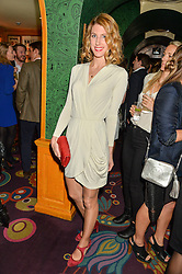 SUSANNA WARREN at the 2nd Bright Young Things Back In London party held at Annabel's, 44 Berkeley Square, London on 11th February 2016.