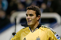 Fotball<br /> Premier League England 2004/2005<br /> Foto: SBI/Digitalsport<br /> NORWAY ONLY<br /> <br /> West Bromwich Albion v Newcastle United<br /> <br /> Newcastle's Laurent Robert is once more the source of controversy.