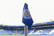 Corner flag during the Premier League match between Leicester City and Manchester City at the King Power Stadium, Leicester, England on 18 November 2017. Photo by Jon Hobley.