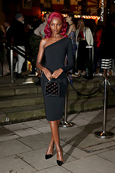 The Naked Heart Foundation's Fabulous Fund Fair at the Roundhouse in London, UK. 18 Feb 2019 Pictured: Leomie Anderson. Photo credit: Fred Duval/MEGA TheMegaAgency.com +1 888 505 6342