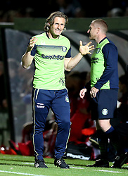 Wycombe Wanderers manager Gareth Ainsworth looks frustrated - Mandatory by-line: Robbie Stephenson/JMP - 09/08/2016 - FOOTBALL - Adams Park - High Wycombe, England - Wycombe Wanderers v Bristol City - EFL League Cup
