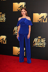 Holland Roden, at the 2016 MTV Movie Awards, Warner Bros. Studios, Burbank, CA 04-09-16. EXPA Pictures © 2016, PhotoCredit: EXPA/ Photoshot/ Martin Sloan<br /> <br /> *****ATTENTION - for AUT, SLO, CRO, SRB, BIH, MAZ, SUI only*****