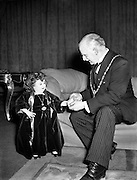 Fun Palace Amusement Centre - Presentation of Cheque on their behalf to Lord Mayor by Lady Dwarf.29/11/1954
