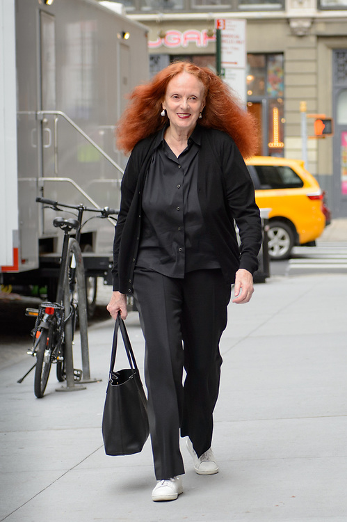 Grace Coddington at Valentino Resort 2018