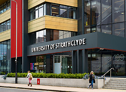 View of the Business School at the University of Strathclyde in Glasgow, Scotland, UK