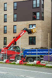 With Covid 19 lockdown restrictions being slowly lifted, construction companies are making preparation to return to work with appropriate safety measures to ensure their staff are safe. Watkin Jones are keen to complete new student accommodation in Edinburgh so safety measures have to be tested.