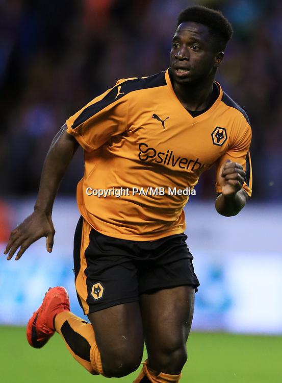 Wolverhampton Wanderers' Nouha Dicko   during the pre-season friendly at Molineux, Wolverhampton.