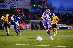 Jonson Clarke-Harris of Bristol Rovers scores a penalty - Mandatory by-line: Dougie Allward/JMP - 07/12/2019 - FOOTBALL - Memorial Stadium - Bristol, England - Bristol Rovers v Southend United - Sky Bet League One