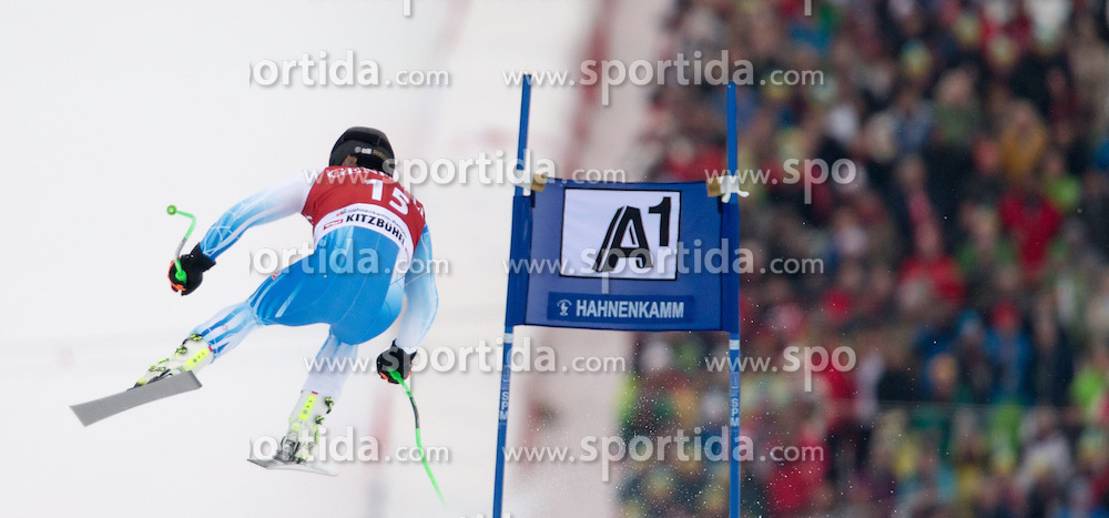 23.01.2015, Streif, Kitzbuehel, AUT, FIS Ski Weltcup, Supercombi Super G, Herren, im Bild Andrew Weibrecht (USA) // Andrew Weibrecht of the USA in action during the men's Super Combined Super-G of Kitzbuehel FIS Ski Alpine World Cup at the Streif Course in Kitzbuehel, Austria on 2015/01/23. EXPA Pictures © 2015, PhotoCredit: EXPA/ Johann Groder
