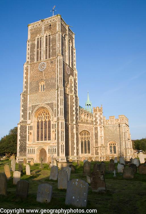 Parish church of Saint Edmund, Southwold, Suffolk, England, UK