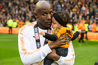Football - 2017 / 2018 Sky Bet Championship - Wolverhampton Wanderers vs. Sheffield Wednesday<br /> <br /> Wolverhampton Wanderer's Benik Afobe at Molineux.<br /> <br /> COLORSPORT