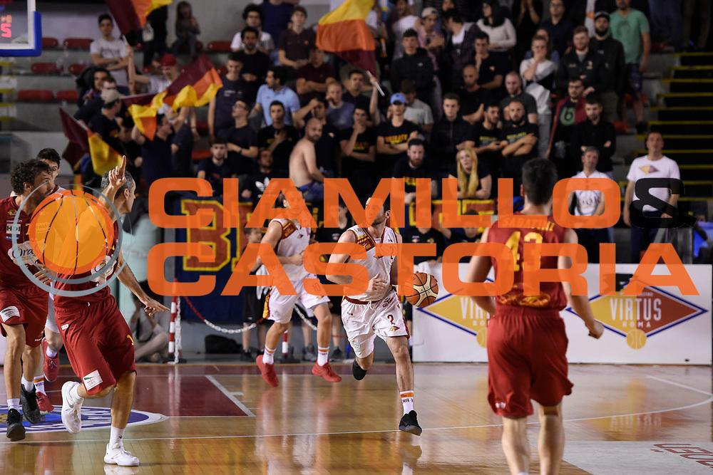 Anthony Raffa<br /> Unicusano Roma - OraSi Ravenna<br /> Campionato Basket LNP 2016/2017<br /> Roma 05/05/2017<br /> Foto Ciamillo-Castoria