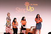 Step Up Women's Network Baord President Molly Leutkemeyer, and Step Up student