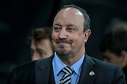 Rafael Benítez (Manager) (Newcastle United) before the EFL Cup 4th round match between Newcastle United and Preston North End at St. James's Park, Newcastle, England on 25 October 2016. Photo by Mark P Doherty.