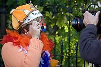 Nederland. Den Haag, 16 september 2008.<br /> Prinsjesdag.<br /> Bij paleis Noordeinde.<br /> Foto Martijn Beekman<br /> NIET VOOR PUBLIKATIE IN LANDELIJKE DAGBLADEN.