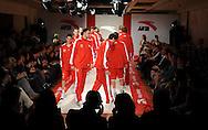 TENIS, KOSARKA, BEOGRAD, 02. Nov. 2010. - Kosarkasi Crvene zvezde. Promocija renomiranog brenda sportske odece i obuce 'Anta'. Promocija je odrzana u u prostorijama 'Grand Kazina' uz prisustvo poznate teniserke Jelene Jankovic, kosarkasa Crvene zvezde i drugih javnih licnosti.  Foto: Nenad Negovanovic