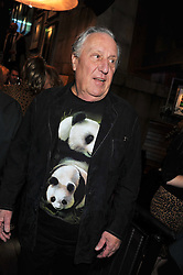 FREDERICK FORSYTH at the Wild for WSPA dinner in aid of the charity World Society for the Protection of Animals held at Under The Bridge, Stamford Bridge, Fulham Road, London on 23rd February 2012.