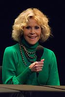 10th Lyon Film Festival. Jane Fonda, Masterclass at Theatre des Celestins