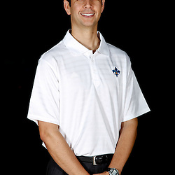 December 14, 2011; New Orleans, LA, USA; New Orleans Hornets assistant coach James Borrego poses for a photo during Media Day at the New Orleans Arena.   Mandatory Credit: Derick E. Hingle-US PRESSWIRE