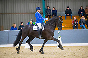 Leonie Evink - Sjoeke van Ravenswoud<br /> Friese Indoorkampioenschappen 2020<br /> © DigiShots