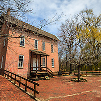 Northwest Indiana Grist Mill in Deep River County Park.  The Wood's Grist Mill is in Hobart Indiana and was built by John Wood in the early 1800's.
