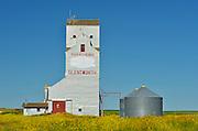 Grain elevator<br /> Glentworth<br /> Saskatchewan<br /> Canada
