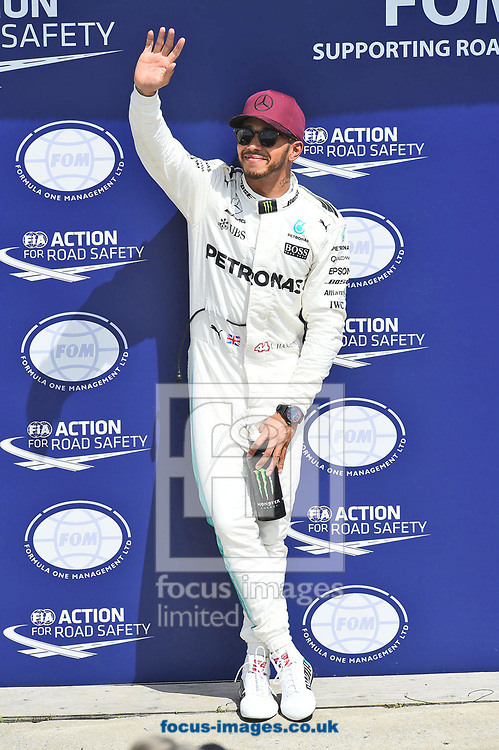 Lewis Hamilton of Mercedes AMG Petronas during the Canadian Formula One Grand Prix qualifying session at the Circuit Gilles Villeneuve, Montreal<br /> Picture by EXPA Pictures/Focus Images Ltd 07814482222<br /> 10/06/2017<br /> *** UK &amp; IRELAND ONLY ***<br /> <br /> EXPA-EIB-170610-0476.jpg