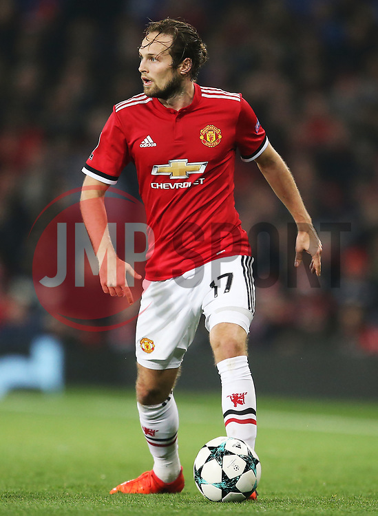 Daley Blind of Manchester United - Mandatory by-line: Matt McNulty/JMP - 31/10/2017 - FOOTBALL - Old Trafford - Manchester, England - Manchester United v Benfica - UEFA Champions League Group A