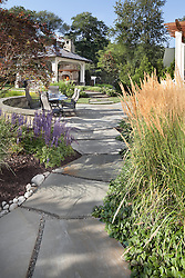 VA1-966-326 322 Owaissa pavilion large stone path