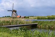 The world heritage windmills of Kinderdijk