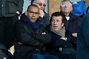 Newly appointed Barnsley Head Coach Jose Morais watches on from the stands during the EFL Sky Bet Championship match between Burton Albion and Nottingham Forest at the Pirelli Stadium, Burton upon Trent, England on 17 February 2018. Picture by Richard Holmes.