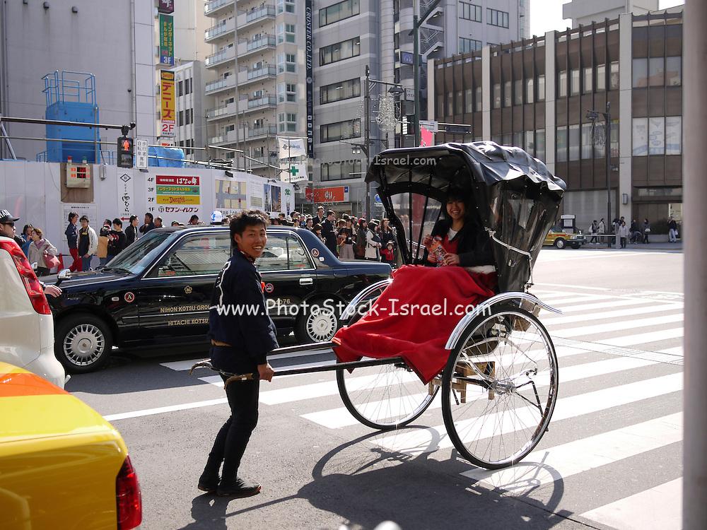 Japan, Tokyo Rickshaw