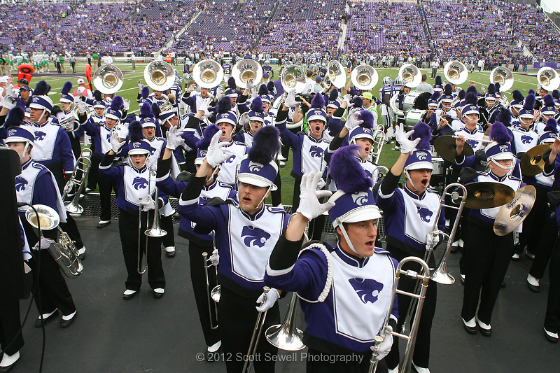 September 15, 2012: Band Day. Game 3. North Texas at Kansas State. #cupcakes