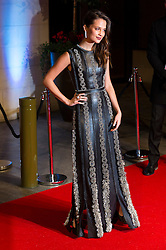 © Licensed to London News Pictures. 14/02/2016. London, UK. ALICIA VIKANDER arrives on the red carpet for the EE British Academy Film Awards 2016 after party held at Grosvenor House . London, UK. Photo credit: Ray Tang/LNPPhoto credit: Ray Tang/LNP