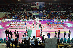 03-05-2017 ITA: Igor Gorgonzola Novara - Liu Jo Volley Modena, Novara<br /> Final playoff match 2 of 5 / Line up Novara - Modena<br /> <br /> ***NETHERLANDS ONLY***