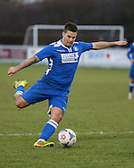 Danny Crow of Lowestoft Town during the Conference North match at St. James Park, Brackley<br /> Picture by David Horn/Focus Images Ltd +44 7545 970036<br /> 24/01/2015