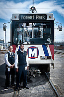 #2 Work By A Schedule<br /> &lt;br&gt;<br /> Rodger Wright &amp; Earven Conrod, Jr<br /> &lt;P&gt;<br /> As Metrolink train operators, Wright and Conrod provide timely transportation to thousands of commuters each day.