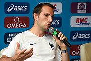 Renaud Lavillenie (FRA) during press conference of Meeting de Paris 2018, Diamond League, at Hotel Marriott, in Paris, France, on June 29, 2018 - Photo Jean-Marie Hervio / KMSP / ProSportsImages / DPPI