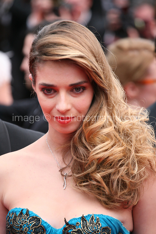 Sarah Barzyk at the the Grace of Monaco gala screening and opening ceremony red carpet at the 67th Cannes Film Festival France. Wednesday 14th May 2014 in Cannes Film Festival, France.